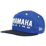 Yamaha Racing New Era Snapback Hat Blue