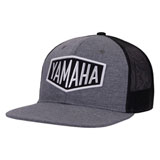 Yamaha Speed Shop Flat Bill Snapback Hat Grey