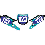 Attack Graphics Custom Flight Full Coverage Number Plate Backgrounds