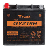 YUASA High Performance No Maintenance Battery with Acid