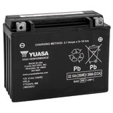 YUASA No Maintenance Battery with Acid