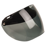 Z1R Universal 3-Snap Shield/Visor for Open Face Helmets