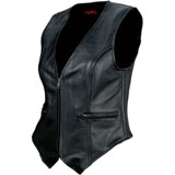 Z1R Women's 44 Leather Vest