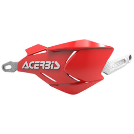 Acerbis X-Factory Handguards Red/White