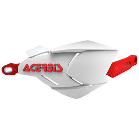 Acerbis X-Factory Handguards White/Red