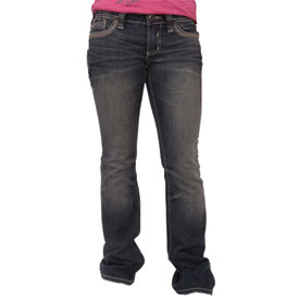 Affliction Ziggy Cathedral Fleur Illusion Ladies Jeans
