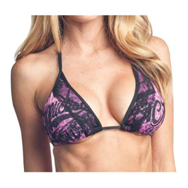 Affliction Custom Garage Ladies String Bikini Top