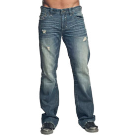 Affliction Cooper Cathedral Fleur Flap Jeans