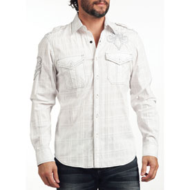 Affliction Cold Torch Long Sleeve Button Up Shirt