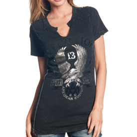 Affliction Crazy Eagle Ladies T-Shirt