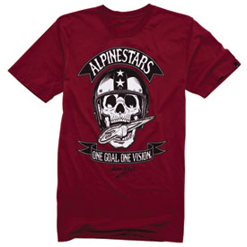 Alpinestars Skulled Slim Fit T-Shirt