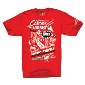 Alpinestars Nitro Circus Sign Of The Times T-Shirt