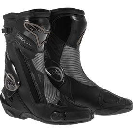 Alpinestars S-MX Plus Black Shadow Motorcycle Boots