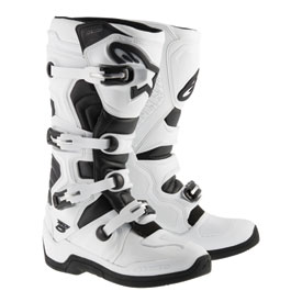 Alpinestars Tech 5 Boots 2019 Size 7 White/Black