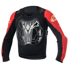 Alpinestars Bionic Youth Protection Jacket Youth Black/Red