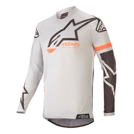 Alpinestars Youth Racer Compass Jersey 20 X-Large Light Grey/Black