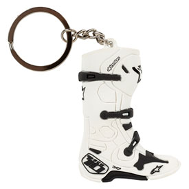 Alpinestars Tech 10 Boot Keyfob White