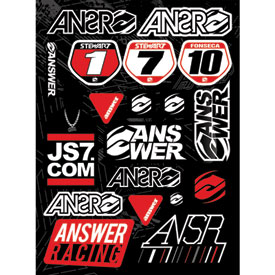 Answer Racing Logo Sticker Kit