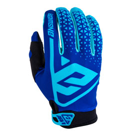 Answer Racing AR1 Gloves Small Blue/Astana