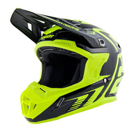 Answer Racing AR1 Edge Helmet XX-Large Black/Hyper Acid