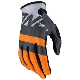 Answer Racing Youth AR1 Voyd Gloves X-Large Charcoal/Grey/Orange