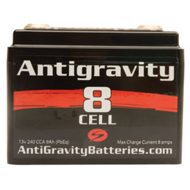 Antigravity Batteries 8-Cell Small Case Race Use Lithium Battery