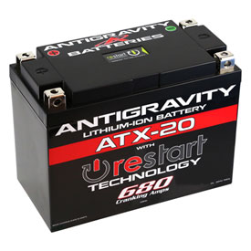 Antigravity Batteries Re-Start Lithium Battery ATX-20