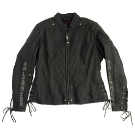 Arlen Ness Kayenta Leather Ladies Motorcycle Jacket