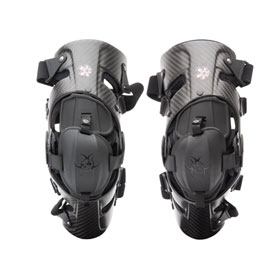 Asterisk Carbon Cell 1 Knee Brace Pair