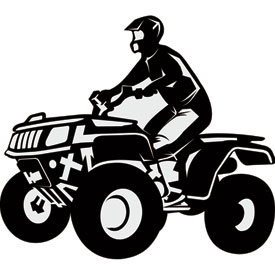 Attack Graphics Rider Decals 4x4 ATV