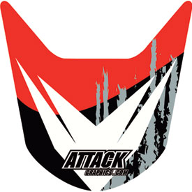 Attack Graphics Slasher Front Fender Decal