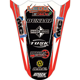 Attack Graphics Slasher Rear Fender Decal