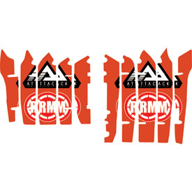 Attack Graphics Turbine Radiator Louver Decals
