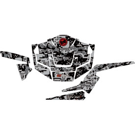 Attack Graphics Siege Complete UTV Graphics Kit Black/ Dark Grey