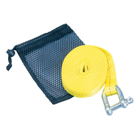Tusk 12 ft Tow Strap Pouch  5,000 lb Strength  ATV