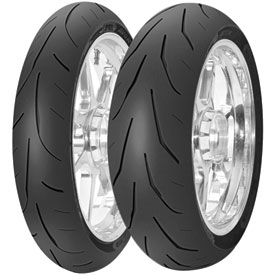 Avon 3D Ultra Xtreme AV82 Rear Motorcycle Tire