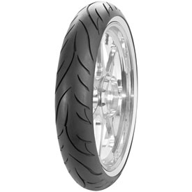 Avon Cobra AV71 Wide White Sidewall Front Motorcycle Tire