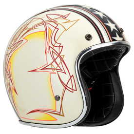 Bell Custom 500 Open-Face Motorcycle Helmet 2012
