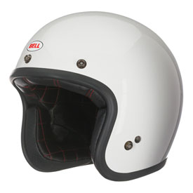 Bell Custom 500 Solid Open-Face Motorcycle Helmet XX-Large White