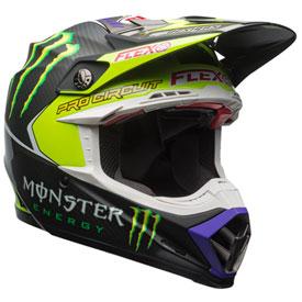 bell moto 9 carbon flex monster pro circuit helmet atv rocky mountain atv mc. Black Bedroom Furniture Sets. Home Design Ideas
