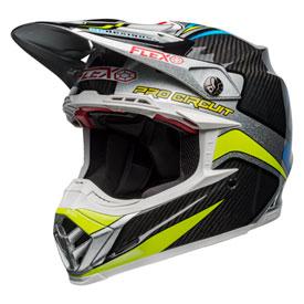 Bell Moto-9 Flex Replacement Visor Pro Circuit Black//Green