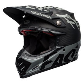Bell Moto-9 Flex Fasthouse WRWF Helmet Small Black/White/Grey