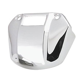Biker's Choice Head Lamp Bracket Cover with Cutaway