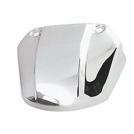 Biker's Choice Head Lamp Bracket Cover without Cutaway