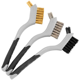 Bike Master Mini Double Wire Brush Set