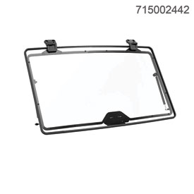 Can-Am Flip Windshield - Hardcoated