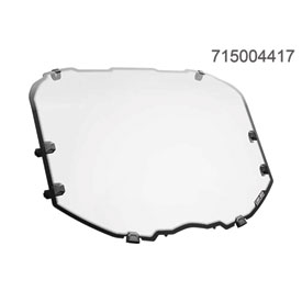Can-Am Full Windshield - Hardcoated