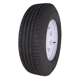 Carlisle Radial Trail Trailer Tire with 5-Hole Wheel