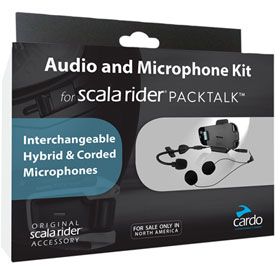 Cardo Systems Scala Rider Packtalk and Smartpack Audio Kit