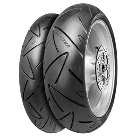 Continental Road Attack 2 Hypersport Touring Radial Front Motorcycle Tire
